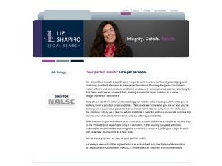 Liz Shapiro Leg