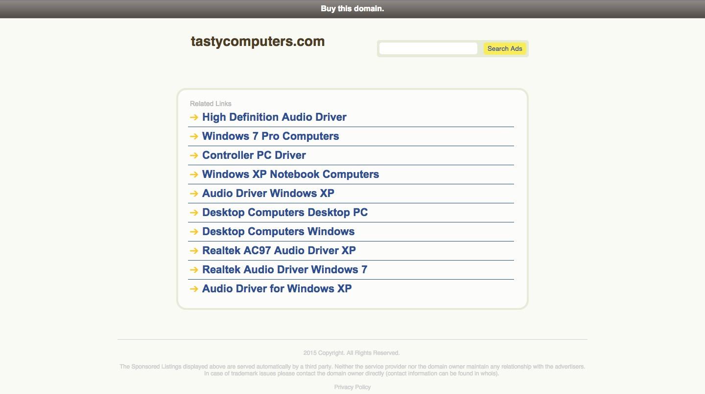 Tasty Computers